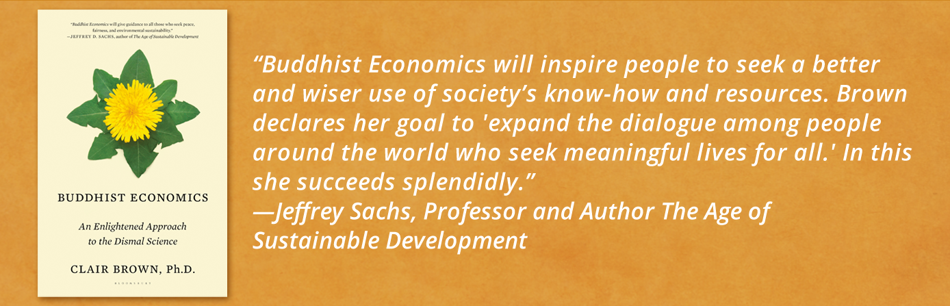 buddhist-economics-clair-brown-jeffrey-sachs-2